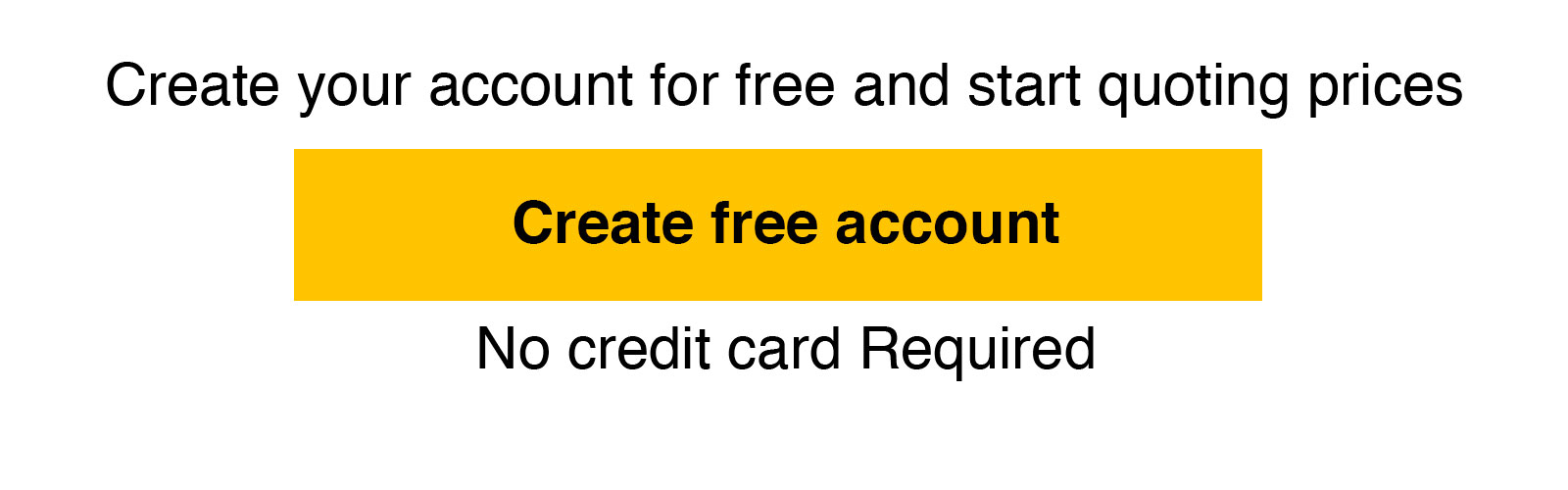Create Free Account