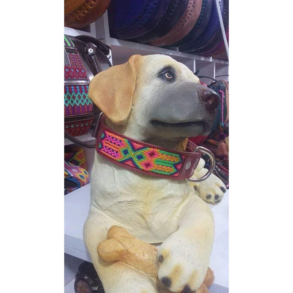 Hand embroidered dog collars Higor Higores