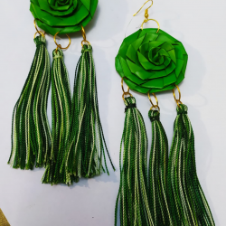 Handmade Maxi earrings Kokys