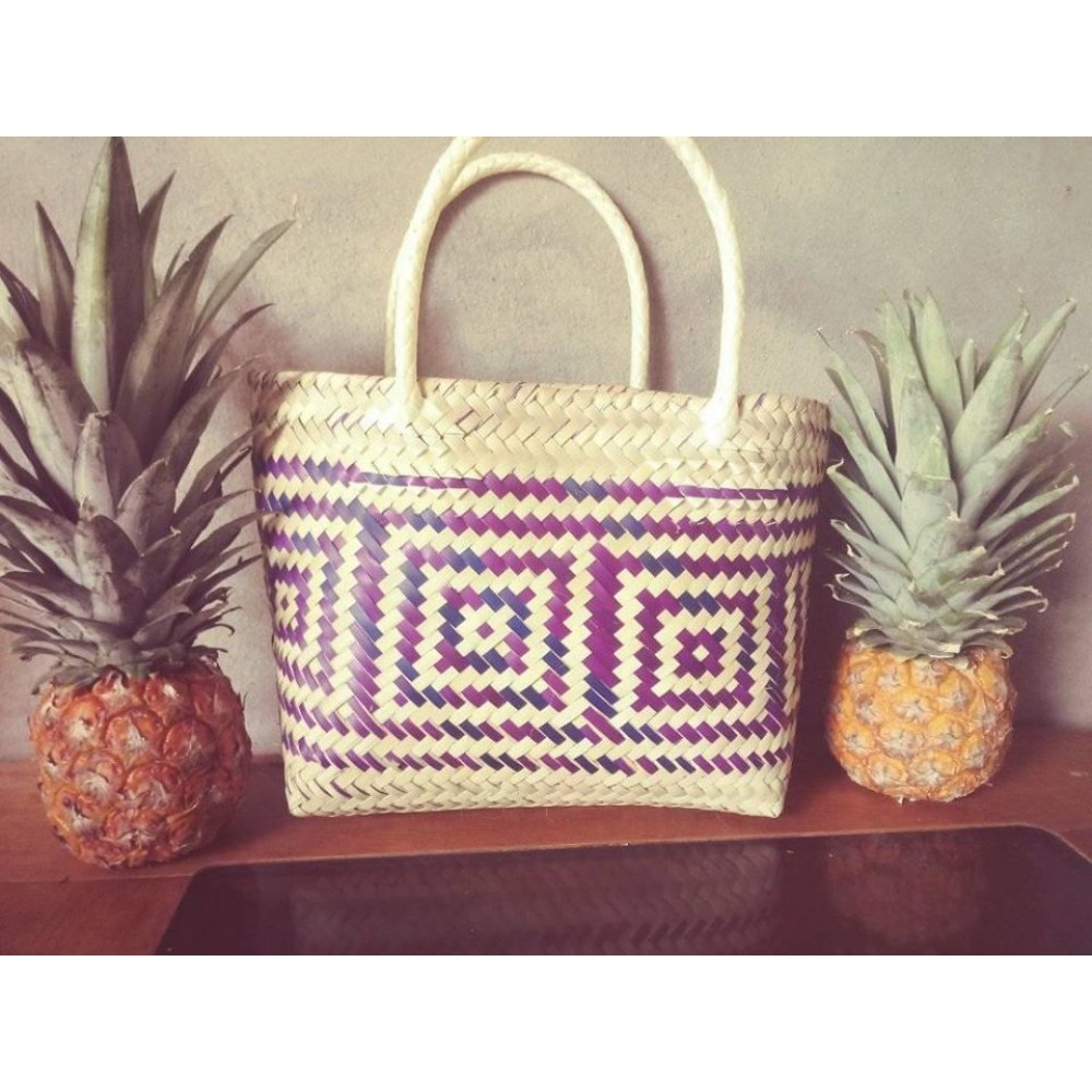 Oaxaca Woven palm bag