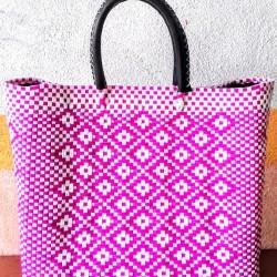 Plastic, woven bag Luchi Sanpaolí