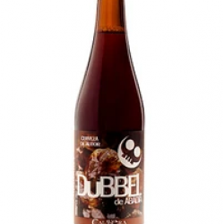 Calavera Dubbel de Abadia beer