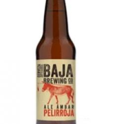 Baja red beer