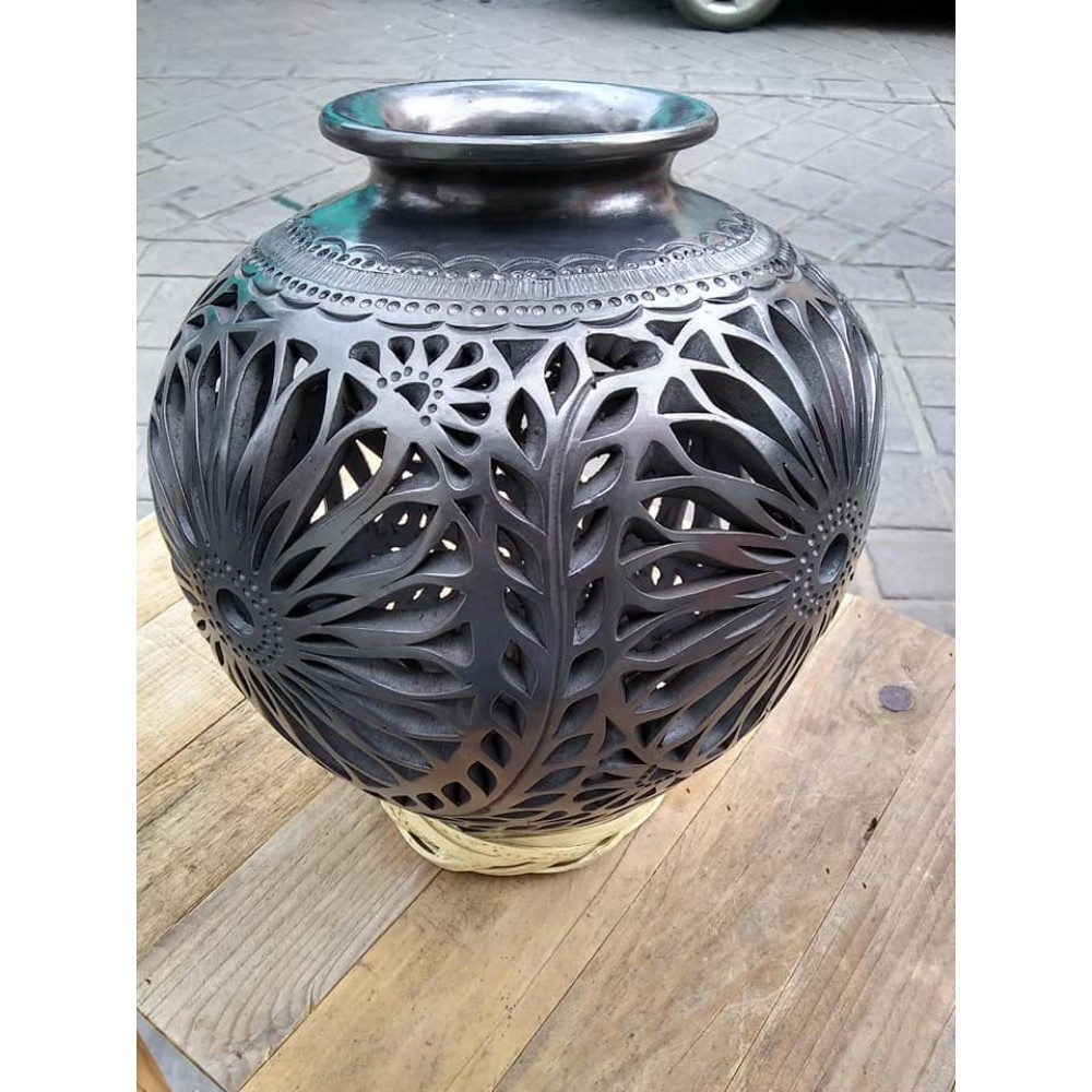 Black clay crafts
