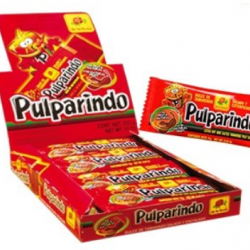 Pulparindo Extra spicy box 32 packs 20 pieces each