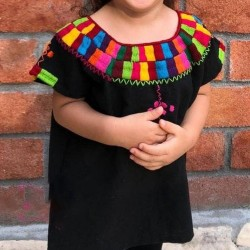 Colorful Girl´s blouse