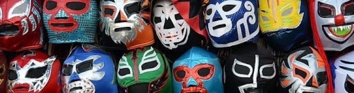 Mexican Wresthling Masks