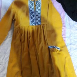 Blanket dresses and blouses