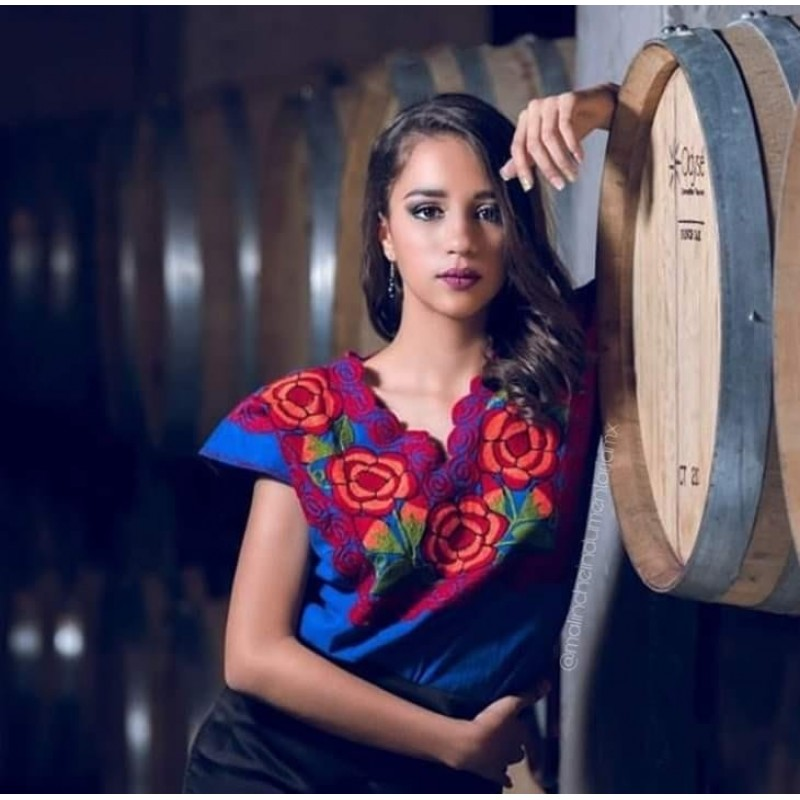 Mexican typical blouses for woman