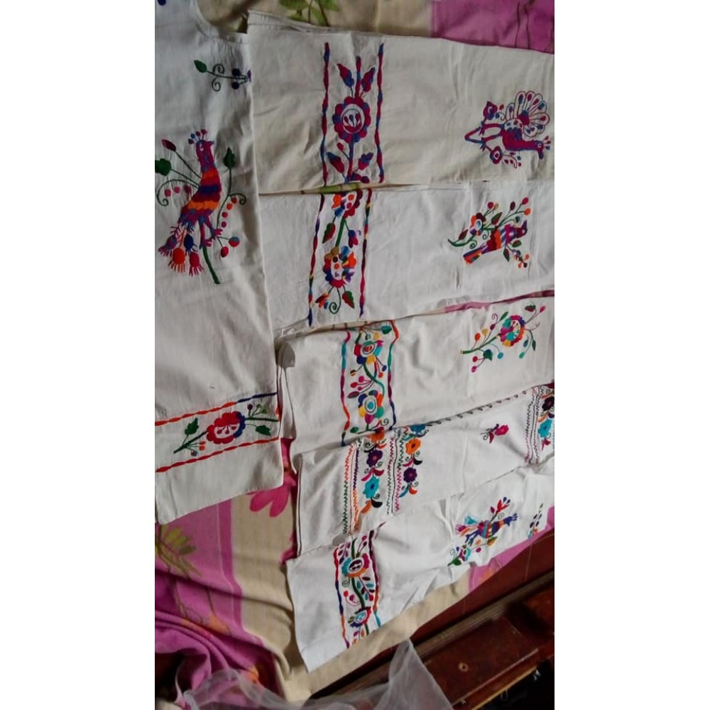 Hand embroidered blouses Lilia
