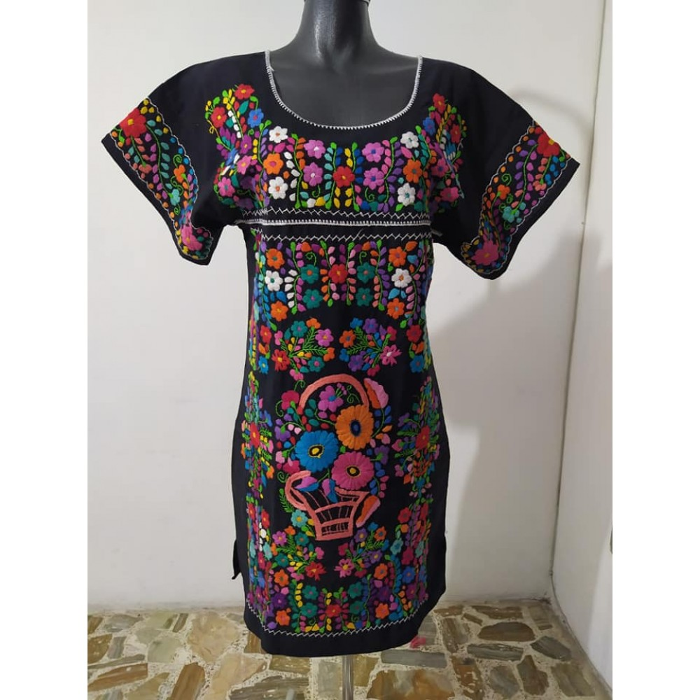 Hand embroidered dresses
