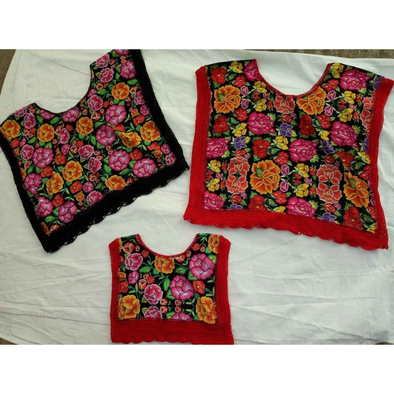 Embroided blouses