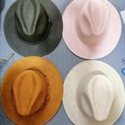 Vinyl hats