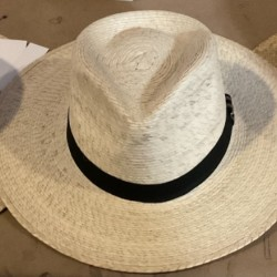 Drop hat in palm