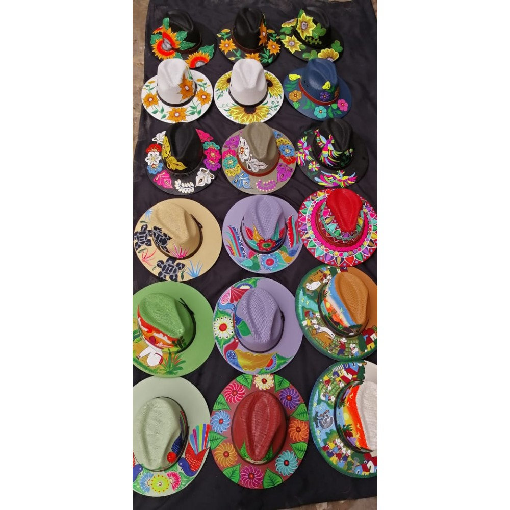 Hand Painted Hats