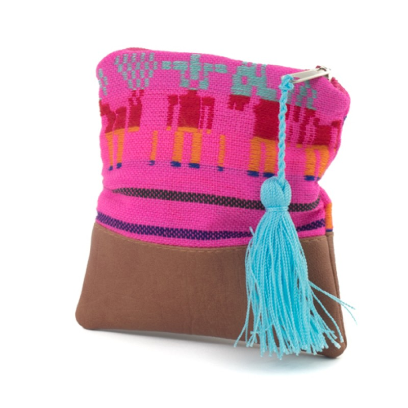 Coin Purse Mexican Pink