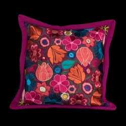Cushion cover flowery magento