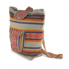 Mexican Back Pack White/ClearOrange
