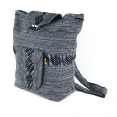 Mexican Back Pack Black/grey