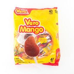 Spicy mango Lolypop  Vero box 24 bags 40 pieces each