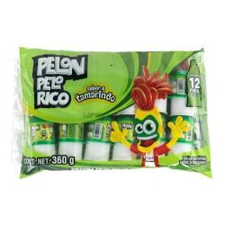 Pelon Pelon Rico spicy candy box with 24 bags 12 pieces each